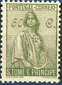 St Thomas and Prince 1934 Ceres - New Values j