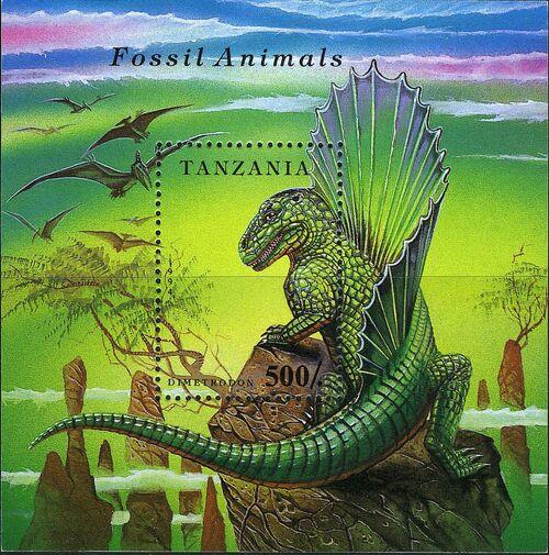 Tanzania 1994 Prehistoric Animals h