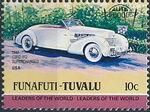 Tuvalu-Funafuti 1984 Leaders of the World - Auto 100 (1st Group) h