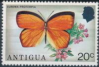 Antigua 1975 Butterflies e
