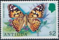 Antigua 1975 Butterflies g