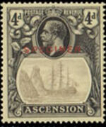 Ascension 1924 Seal of the Colony r