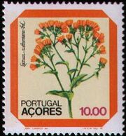 Azores 1982 Azores Flowers (2nd Issue) b