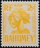 Dahomey 1941 Carved Mask i