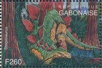 Gabon 1995 Prehistoric Wildlife zb