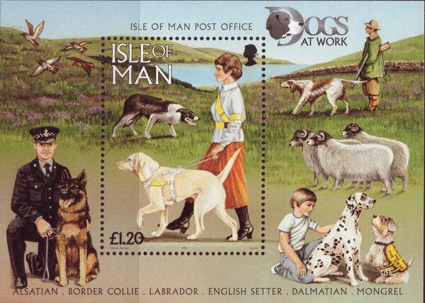 Isle of Man 1996 Dogs at Work k