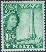 Malta 1956 Elizabeth II d