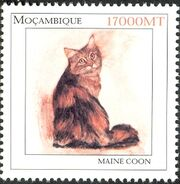 Mozambique 2002 The Wonderful World of Cats a