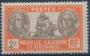 New Caledonia 1928 Definitives t