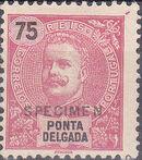 Ponta Delgada 1897 D. Carlos I SPh