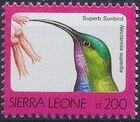 Sierra Leone 1992 Birds n