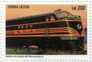 Sierra Leone 1995 Railways of the World a