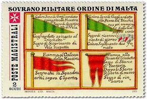 Sovereign Military Order of Malta 1977 Antiche Segnalazioni Delle Marinerie Dell'Ordine d