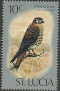St Lucia 1976 Birds g