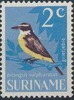 Surinam 1966 Birds b