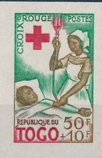 Togo 1959 100th Anniversary of International Red Cross i