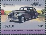 Tuvalu 1985 Leaders of the World - Auto 100 (2nd Group) j