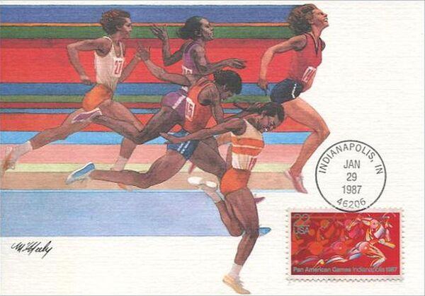 United States of America 1987 Pan American Games, Indianapolis MCa