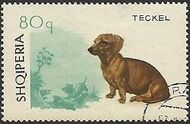 Albania 1966 Dogs h