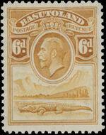 Basutoland 1933 George V, Crocodile and River Scene f
