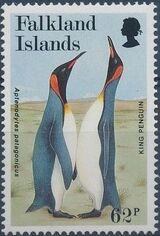 Falkland Islands 1991 WWF - King Penguin f