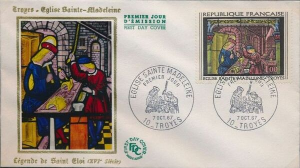 France 1967 French Art (1967-4) FDCa