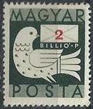 Hungary 1946 Dove and Letter b