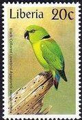 Liberia 1997 Birds h