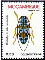 Mozambique 1978 Coleoptera from Mozambique a