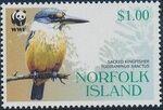Norfolk Island 2004 WWF Sacred Kingfisher c