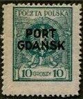Poland 1925 Polish Offices Abroad - Danzig e