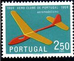 Portugal 1960 The 50th Anniversary of the Aero Club of Portugal d