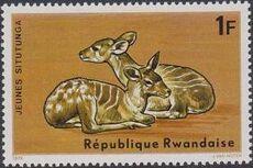 Rwanda 1975 Antelopes d