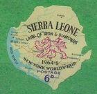 Sierra Leone 1964 New York World's Fair - Regular Stamps d