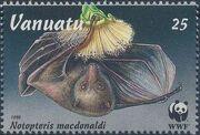 Vanuatu 1996 WWF Flying Foxes d