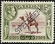 Aden 1939 Scenes - Definitives ls