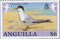 Anguilla 1990 Christmas - Birds e