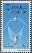 Belgium 1999 Greetings Stamps e