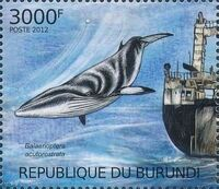 Burundi 2012 Protection of Nature - Save the Whales h