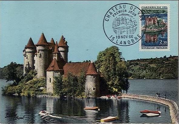 France 1966 Tourism - Val Chateau MCb