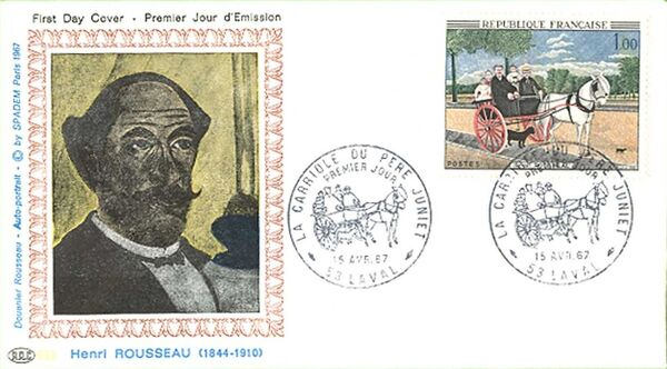 France 1967 French Art (1967-1) FDCe