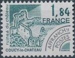 France 1981 Historic Monuments - Pre-cancelled (3rd Issue) d