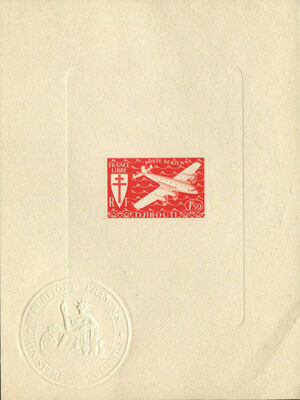 French Somali Coast 1941 Airmail i