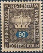Liechtenstein 1950 Crown i