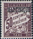 Martinique 1927 Postage Due Stamps of France Overprinted g