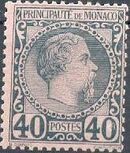 Monaco 1885 Prince Charles III g