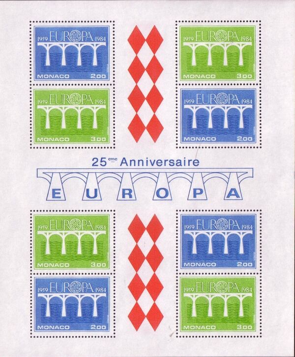 Monaco 1984 Europa SSa