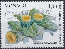 Monaco 1985 Flowers in Mercantour National Park a