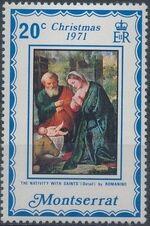 Montserrat 1971 Christmas c