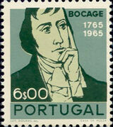 Portugal 1966 2nd Centenary of the Birth of Bocage c